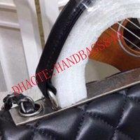 Kadın Lüks Tasarımcılar Doku Zincir Flap Çanta Kaliteli Moda Çanta Lüks Tasarımcı Omuz Çantası Mini Çanta Klasik Düz-Koyun Derisi Crossbody Çanta