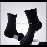 Mens Sports Breathable Basketball Cycling Running Elasticity Long Socks Comfortable Fitness Yoga Anti Slip Cotton1 P09Iw 1Aknd