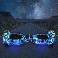 Kick aerotabla 6,5 pulgadas Altavoz Bluetooth Auto-Balancing Vespa LED Scooters eléctricos de dos ruedas de skate inteligente bolsa Junta