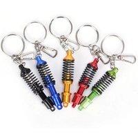 자동차 터보 Tein JDM 댐퍼 코일 오버 키 체인 키 체인 링 자동 액세서리 펜던트 Keyholder 데칼 키 링 키 체인