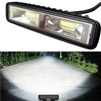 1-2 stücke 36W DRL LED-Spot-Hochwasserarbeitsleuchte Aluminium-Arbeitsscheinwerfer für Auto Motorrad 12V LED-Scheinwerfer für Off-Road-Fahrzeug-Auto-Truck