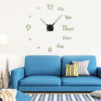 Desk & Table Clocks Luminous Wall Clock Modern Simple Silent Personalized Decoration For Living Room Bedroom Office