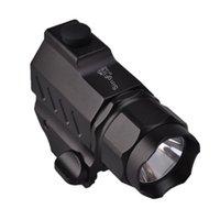 Singfire SF-P02 CREE XP-G R5 350LM 2-Modo LED de pistola táctica (1 * CR2 Batería) Linternas negras antorchas