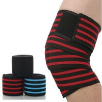 Намотка колена повязки Crossfit Упругие прокладки для работы спортивные баскетбольные волейбол волейбол MTB Protector Brace поддерживает локоть