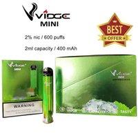 2 % NIC 600 퍼프 20 mg e-ju 전자 담배 CE RoHS 보안 코드 스위치 제어 일회용 vape 펜으로 CE RoHS TPD 인증서 vidge 미니