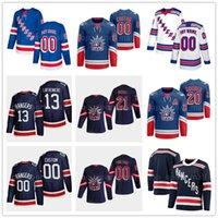 하키 뉴욕 레인저 레트로 2 Braden Schneider Jersey 스티치 99 Wayne Gretzky 20 크리스 Kreider 77 Tony Deangelo 23 Adam Fox Shirt Jerseys 유니폼