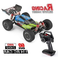 Wltoys 144001 1 14 2.4G Racing RC Car 4WD High Speed Remote Control Vehicle Models Toys 60km h Quality Assurance for Children Y20