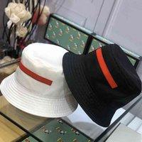 남성과 여성의 흑백 피셔 맨의 모자 원 사이즈는 모든 여성의 여름 자외선 차단제 모자 남성 캐주얼 스트리트 트렌드 힙합 모자에 적합합니다.