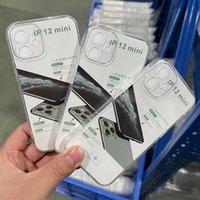 1.5mm Temizle Şeffaf Durumda Yumuşak TPU Silikon Darbeye Dayanıklı Kristal Kauçuk Kapak Shell iPhone 13 Pro Max 12 Mini 11 XS XR X 8 7 6 6 S Artı SE