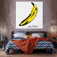 Grande taglia Banana Home Decor Pittura a olio su tela Handcrafts / HD Print Wall Art Picture Personalizzazione è accettabile 21052408