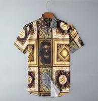 2021 Men Slim Fit Fashion Animal Printed Dress Shirts Camisa Social Masculina Long Sleeve Shirt Mens Clothes Mauchley#G4028
