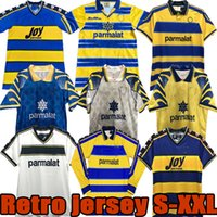 93 95 96 97 98 99 00 01 02 03 Parma Retro Jersey Jersey Calcio Buffon 1995 1996 1998 2000 2000 2000 2002 2003 Classic Nostalgia Vintage Palma Football Camisa Kits Stoichkov