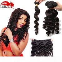 Hannah produto peruano onda solta não transformada cabelo virgem 3 pcs lote peruano cabelo virgem solto cabelo cabelo tecelagem de cabelo peruanobundles peruanos