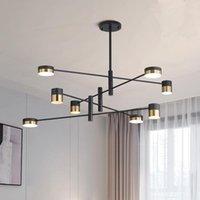Pendant Lamps LED Modern Luster Loft Chandeliers Nordic Luxury Chandelier Lighting Creative Europe Living Room Hanglamp Kitchen Fixtures