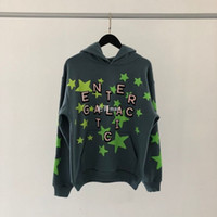 CPFM COM CO BRANDED KIDE CUDI ENTER GALACTIC LIMITED Luminous Star Foam Hoodie