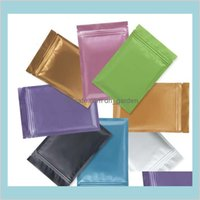Bags Office School Business Industrial Wholesale Multi Color Resealable Zip Mylar Aluminum Foil Bag Plastic Packing Smell Proof Pouche