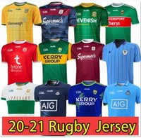 20 - 21 Dublin Gaa Home Rugby Jersey 2020 - 21 Caillimh Tipperary Áth Clith Shirt David Treceacy Tom Connolly Rugby Shirts S-5XL