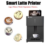 Evebot Coffee Printer Automatic 3d Latte Machine One-Touch Operation DIY Printing Po On Like Cake Bread Printers