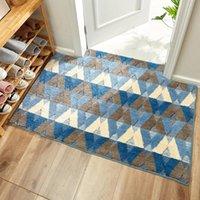 Geometrische Stil Teppich für Wohnzimmer Schlafzimmer Hohe Qualität Flur Rug Teppich Kinderbodenmatte Nachttisch Wohnkultur Teppiche Teppiche