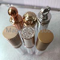 Storage Bottles & Jars 50pcs 5ML DIY Creative Empty Lip Gloss Tube, Plastic Elegant Lipstick Bottle,Clear Lipgloss Refillable Container
