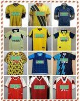 04 05 06 Retro Ljungberg Vieira v.persie Soccer Jersey 82 88 89 Henry Wright Pires 1994 1995 1997 2000 20002 Bergkamp Camicia da calcio uniforme