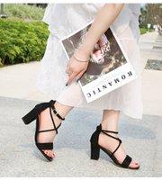 أحذية عالية الكعب عالي الصيف مع سطر واحد beunewle صافي حمراء كعب thinew الجنية الصنادل المرأة صغيرة الحجم 32 A123-1 56M3