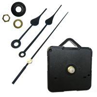 Home Clocks DIY Quartz Klok Bewegingsset Zwart Klok Accessoires Spilmechanisme Reparatie met Hand Sets Shaft Lengte 13 Beste 1371 V2