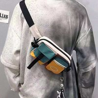 DHG Fashion Sports Equipment Outdoor Attrezzature da esterno in tela Borsa a tracolla, Zipper, Comodo e confortevole, Tempo libero Alpinismo
