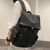 Модный и легкий рюкзак Японии, японские ins Мужской модный бренд Большой досуг Большой досуг должен иметь черный, красный, серый, 3 цвета на выбор