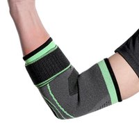 Warm Bandage Elbow Pad Protect Support Knee Sleeve 1 Pcs Adjustable Sports Reduce Pain Outdoor Cycling Gym Guard Brace & Pads