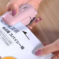Bag Clips Portable Mini Sealing Machine Storage In The Kitchen Household Food Clip Heat And Organization