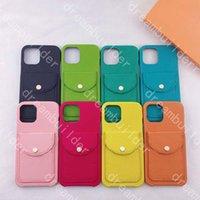 Casos de telefone de moda para iphone 12 pro máximo mini 11 x xs xr xsmax 7 8 plus case pu shell de couro samsung s20 s10 s10p s20p s20u nota 10 20 titular