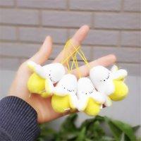 Jolie banane charme peluche jouets enfants enfants bébé filles garçons étudiants cadeau pendentif souple poupée poupée poupée jouet