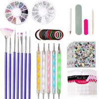 Nail Art Kits Profession Tool Set Painted Pen Point Drill Manicure File Rhinestone Jewelry Acrylic Kit Tools