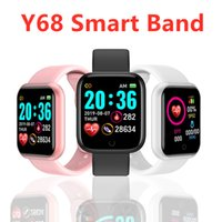 Y68 D20 Smart Watch Fitness Bracelet Blood Pressure Heart Ra...