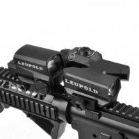 بندقية Leupold البصرية المزدوجة المحسنة D-EVO CMR-W-SITRELE BIRLE مع LCO Red Dot Vight Vight المجسم البصر للصيد