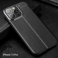 Lychee skin texture creative anti-fall phone cases for iphone13 pro max 12 min 11 X XR XS 7 8 plus case cover