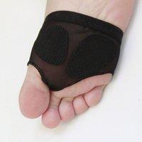 Tobillo de soporte de tobillo Danza delantera Frente Foot Pie Ballet Gymnastics Latin Beauty Practice Set Shoes para WomenHF