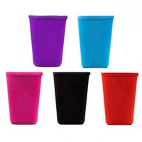 5 Colors Drinkware Handle Reusable Iced Coffee Sleeve Insulator Cup Sleeves 30oz 20oz 16oz For Cold Drinks Beverages Neoprene Cups Holder Cover Case 133 N2