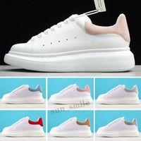 McQueen Высочайшее качество дизайнерские кроссовки Обувь мода хорошая эспадриль мужские женские платформы негабаритные кроссовки размером 36-44