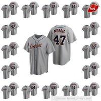 2021 Hombres de béisbol Jackie Robinson Daniel Norris Jerseys Niko Goodrum Miguel Cabrera Mujeres Juveniles Jersey cosido