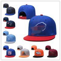 Tüm 32 Takımlar Caps Futbol Snapback Şapka 2021 Taslak Cap Maç Stokta En Kaliteli Şapka Karışık Sipariş HHH