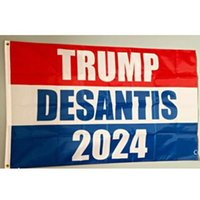 Custom 3*5 FT Trump Campaign Banner Flag 2024 Bring Back for Presidential Election Flags DHD10118