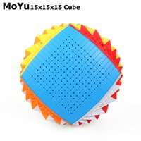 Moyu 15 طبقات 15x15x15 سحرية السرعة مكعب ملصقا لغز مكعبات ألعاب تعليمية لعب للمجموعة