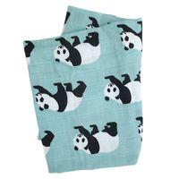 Hot novos cobertores bebê recém-nascido macio algodão orgânico bambu baby bibs muslin swaddle envoltório alimentação burpy toalha lenço grande fralda 1119 y2