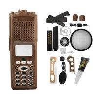 براون بديلة تجديد حالة الإسكان غطاء لموتورولا XTS5000 M3 الراديو المحمولة