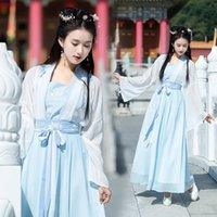 Womens Hanfu Chinese Style Bodycon Dress Korean Wrap Summer Vintage Clothes For Women 2021 Preppy Cotton Dresses Casual