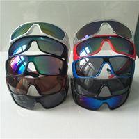 여름 남성 여성 스포츠 위장 선글라스 UV400 보호 안경 패션 야외 자전거 타는 태양 안경 10 색