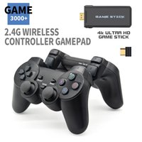New designer portable VIDEO game console, 4K, 2.4g, wireless controller, support CPS, PS1, classic retro game console