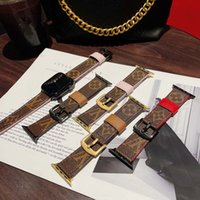 أزياء مصمم حزام فاخر لتفاح 42 ملليمتر 38 ملليمتر 40 ملليمتر 44 ملليمتر iwatch 2 3 4 5 ووتش العصابات جلد سوار المشارب watchband dfdfg
